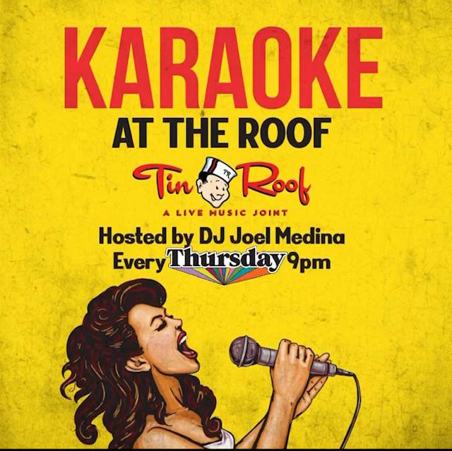 Karaoke at the Roof - Green Room